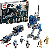 LEGO Star Wars 501st Legion Clone Troopers 75280 Building Kit, Cool Action Set for Creative Play and Awesome Building;...