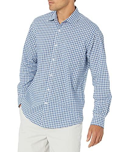 camicia uomo Amazon Essentials Long-Sleeve Regular-Fit Casual Poplin Shirt Camicia