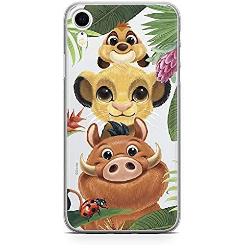 Ert Group DPCSIMBF1601 Custodia per Cellulare Simba and Friends 003 iPhone XR