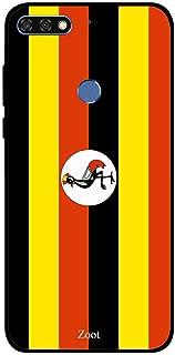 Honor 7C Case Cover Uganda Flag, Zoot Designer Phone Covers