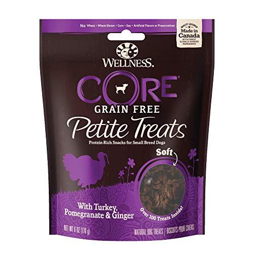 Wellness Petite Treats pequeño Perro Raza sin Grano Treats, 6-Ounce Bolsa ✅