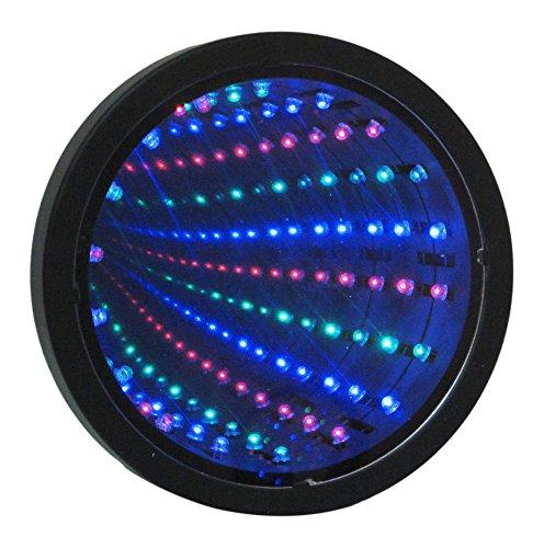 Lampe à LED avec design tunnel infini ou miroir, SIM6 de Playlearn - Éclairage décoratif pour soirées