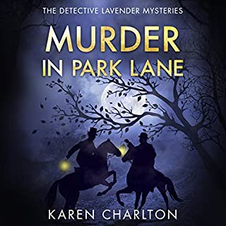 Murder in Park Lane audiobook cover art