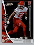 2019 Absolute Football #164 Juan Thornhill RC Rookie Card Kansas City Chiefs Official NFL Trading Card From Panini America in Raw (NM or Better) Condition. rookie card picture