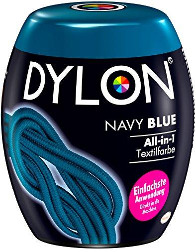DYLON Navy Blue All-in-1 Textilfarbe (für frische und intensive Farben) 1 x 350 g