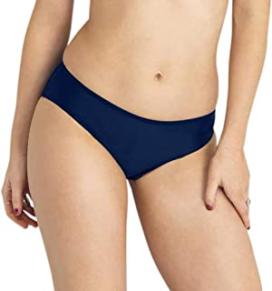 Modibodi RED Swimwear Bikini Pants - Navy Light-Moderate Absorbency