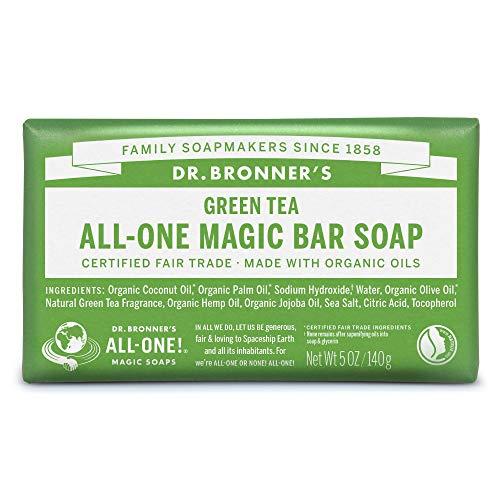 ネイチャーズウェイ ドクターブロナー マジックソープバー magic soap 石鹸 グリーンティ 140g ネイチャーズウェイ
