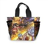 Dragon Ball Z Conan Death Note Full Time Hunter bolso mujer moda bolsa reutilizables para la compra luz bolsos a mano alta capacidad bolsas de regalo bolsas porta alimentos