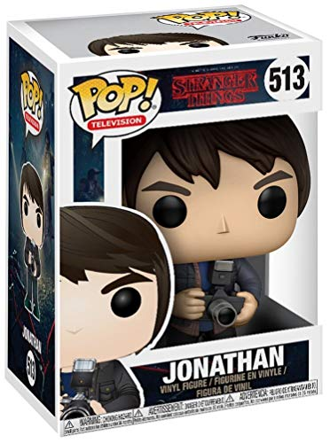 Funko POP! Stranger Things: Jonathan con cámara