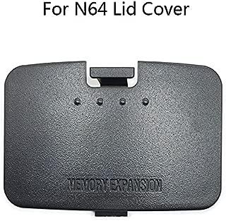 Replacement Jumper Pak Memory Expansion Door Cover Lid Part for Nintendo 64 N64 (Black)