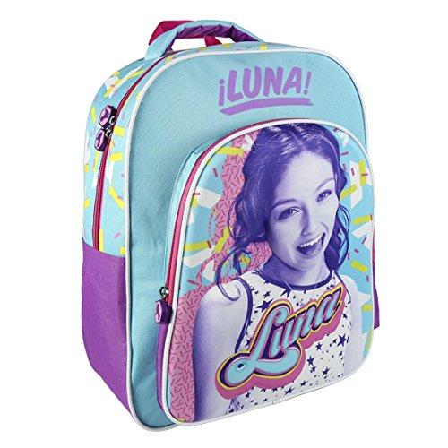 Takestop - Mochila Soy Luna Disney para niños, para la escuela o guardería, diseño de cuadernos