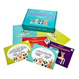 Dog Birthday Party Supplies Kit - Puppy Birthday Game for Dog Gotcha Day, 40 Piece Dog Party Decorations Games for 6 Guests, Couples or Teams with Trivia, Drawing Games and More by Standout Party