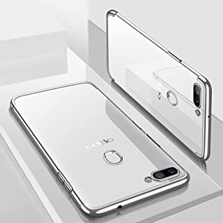 YYSJK Case For Oppo Find X Cases Soft Plated Fundas For Oppo F9 K1 R15X A3S A5 A3 A83 A1 A73 R17 Pro F5 Plus F9 Pro A7 A57 A71 Cover