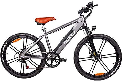 Bicicletas Eléctricas, Adulto 26 pulgadas La nueva mejora de las bicicletas eléctricas de la montaña, bicicleta eléctrica de aleación de aluminio, batería de litio de 48V / Pantalla LCD / 6 engranajes