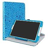 Samsung Galaxy Tab E 9.6 Rotary Funda,LiuShan Giratoria 360 Grados de Rotación Carcasa con Stand Soporte Caso para Samsung Galaxy Tab E 9.6 SM-T560 / T561 / T565 / T567 Android Tablet,Azul