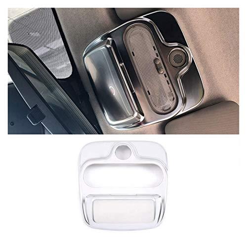 Innenverkleidung für Mercedes Benz Smart 453 2015–2020 Auto Silber ABS Dachfenster Schalter Abdeckung Verkleidung Innenraum Auto Zubehör