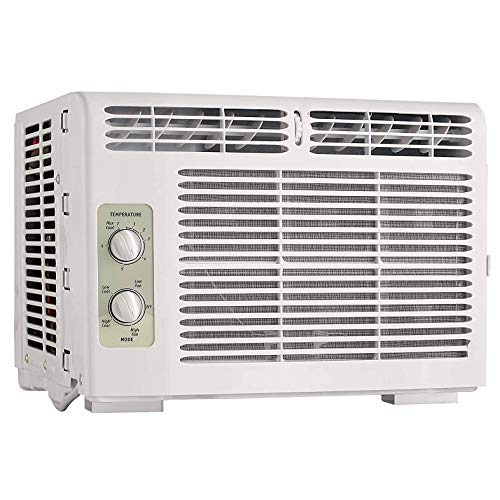 Equipment 5 000 Btu Window Mounted Mini Compact Air Conditioner With Mechanical Controls 115v
