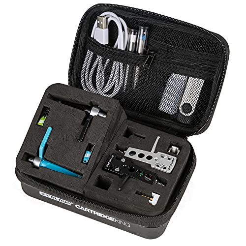 Reloop Cartridge-King, Professional Storage Case for Turntable Carts, Needles and Accessories DJ Bag (AMS
