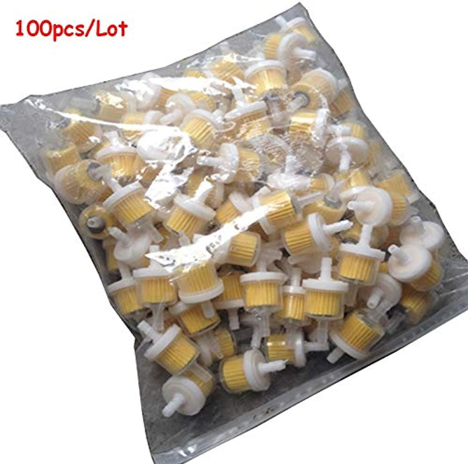 fincos 100pcs lot universal motorcycle gas fuel filters engine fram Inline Fuel Filter