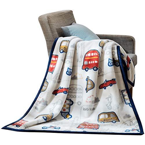 LIQIN Couvertures Accueil Textile Couverture Raschel Automne Et Hiver Enfants De Bande Dessinée Couverture Mignonne Couverture Bureau Doux Et Confortable (100 * 140cm)