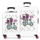 Set De Maletas Rígidas Girl Gang Hello Kitty