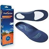 FootActive Comfort - Original Marken Einlegesohlen - Herrlicher Laufkomfort für Füße, Beine und Rücken, speziell bei Fersensporn (42-43 M)