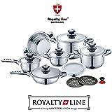 Batería de cocina Royalty Line Acero inoxidable