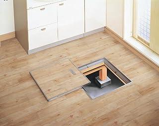 パナソニック 床下点検口 CGEW60S シルバー 色枠タイプ 床開口600タイプ 600mm (フタ仕上げ材別)
