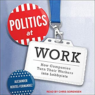 Politics at Work audiobook cover art