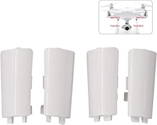 4PCS (NO.1~4) Landing Gear Antenna Cover Case for DJI Phantom 4 Pro Drone