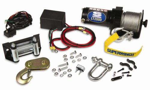 Superwinch 1120210 LT2000 12-Volt ATV Winch (2,000 lb Capacity)