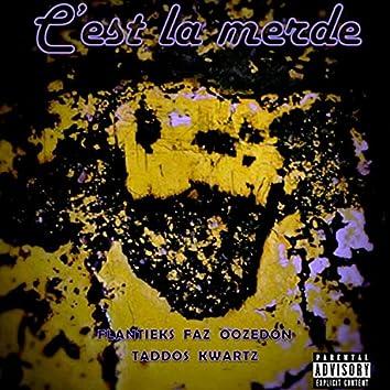 C'est la merde (feat. Flantieks, Faz, Oozedon & SKTN)