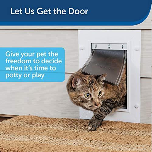PetSafe Wall Entry Pet Door with Telescoping...