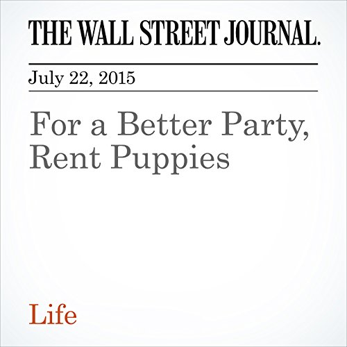 For a Better Party, Rent Puppies cover art