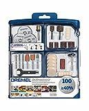 Dremel SC723 EZ SpeedClic Kit - Coffret de 100 Accessoires pour Outil Multifonction...