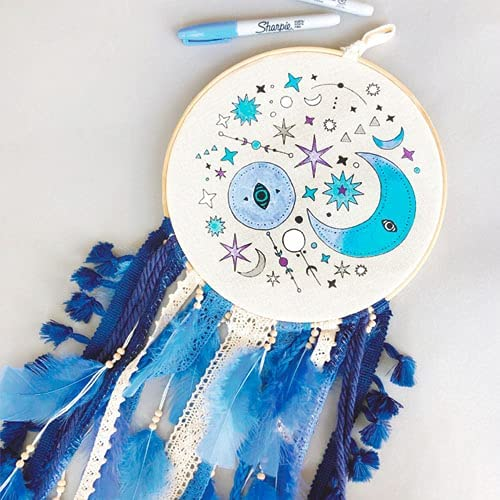 Paint Your Own Dream Catcher Craft Kit I for G Mesa Mall Save money