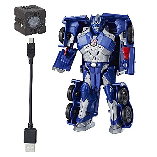 Transformers 5: The Last Knight – Allspark Tech – Starter Pack – Optimus Prime [UK Edition]