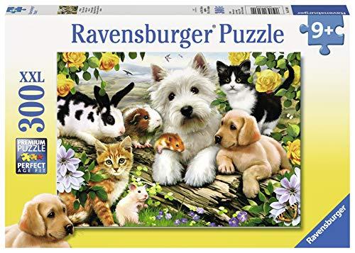 Ravensburger 13160 - Fröhliche Tierfreundschaft - 300 Teile Puzzle