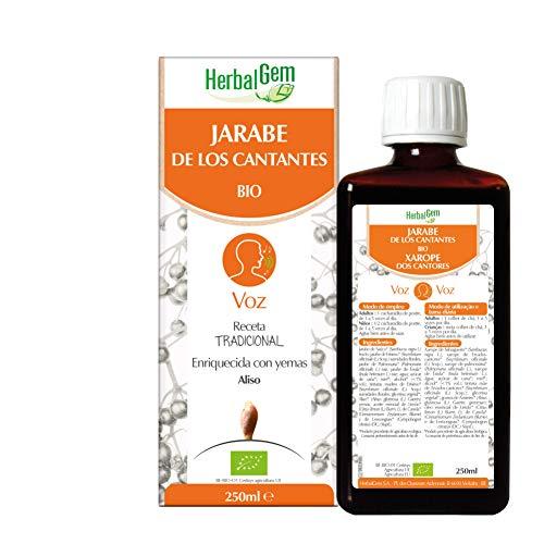 Herbalgem Jarabe de los Cantantes, Bio, 250 Mililitros