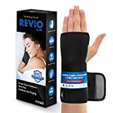 ATX Night Sleep Support Wrist Brace - Carpal Tunnel Relief - Wrist Pain - Removable Metal Splint and Cushioning Beads for Painless Sleep - Men and Women
