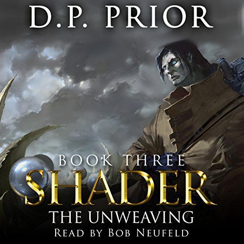 The Unweaving audiobook cover art