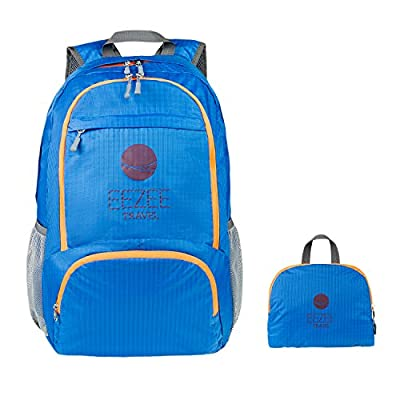 EEZEE 28L Ultralight Waterproof Foldable Backpack Lightweight Portable Daypack for Sports Travel Camping Hiking Backpacking