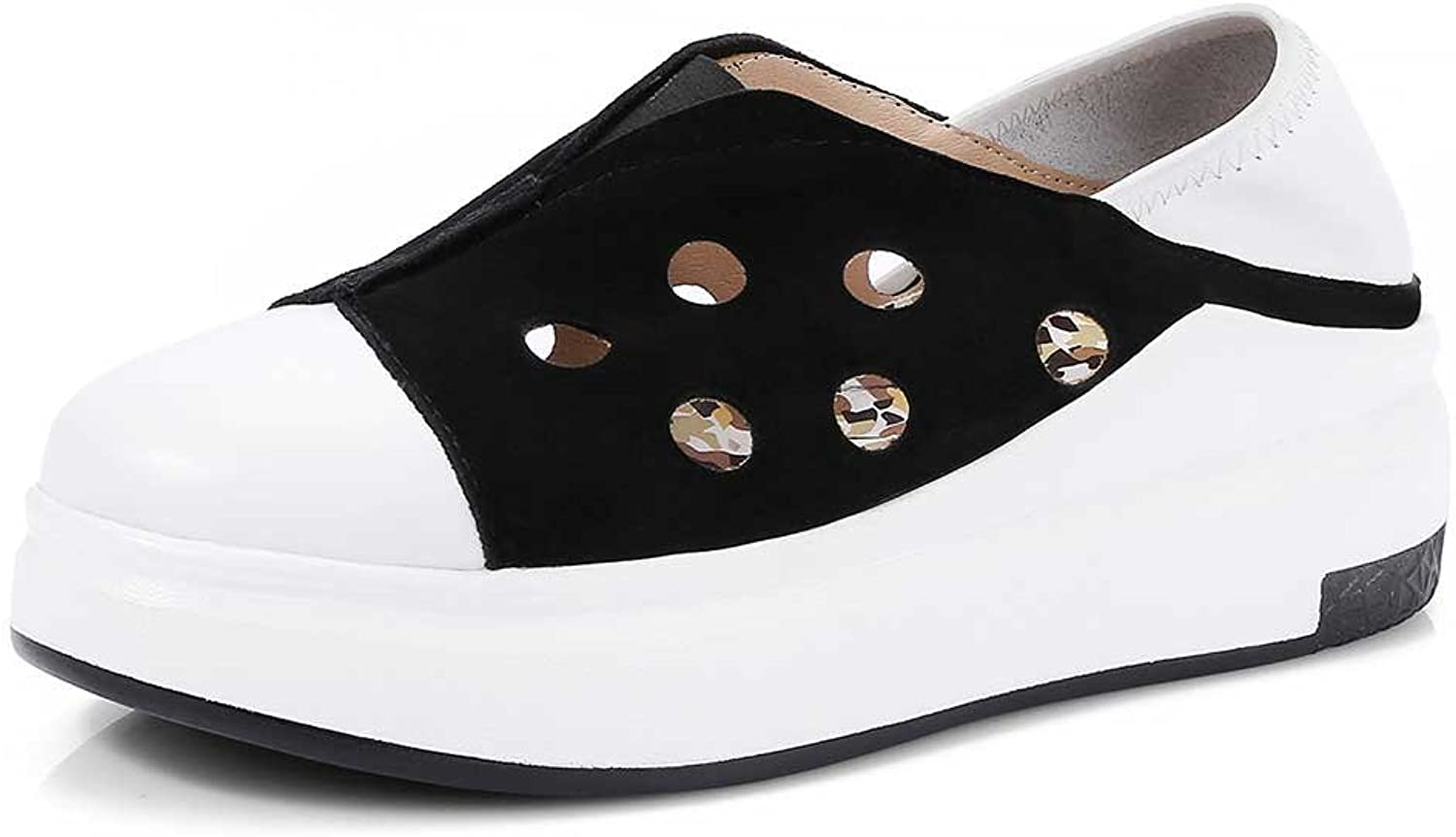 A-BUYBEA Women's Collapsible-Heel Slip-ONS Breathable Sneaker-shoes for Summer Size 4.5-7.5