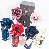 Sindy Bomboniere Muhà Diffusore per Ambienti fragranza a Scelta 200ml (Rosso: Petali di Rosa)