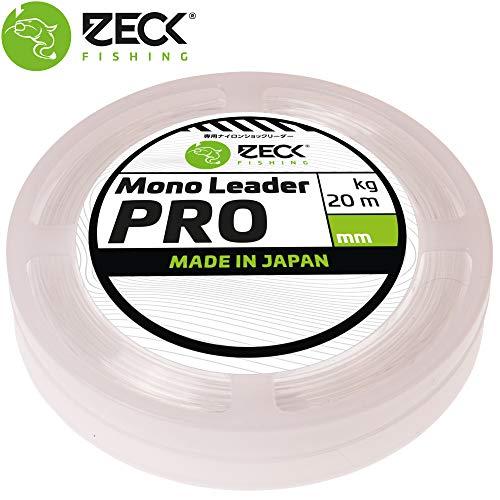 Zeck Mono Leader Pro 1,05mm 68kg 20m monofiles Welsvorfach