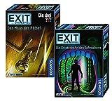 EXIT – Staffel VI: Geisterbahn des Schreckens + Kosmos Spiele 694043 Spiel - Das Haus der Rätsel