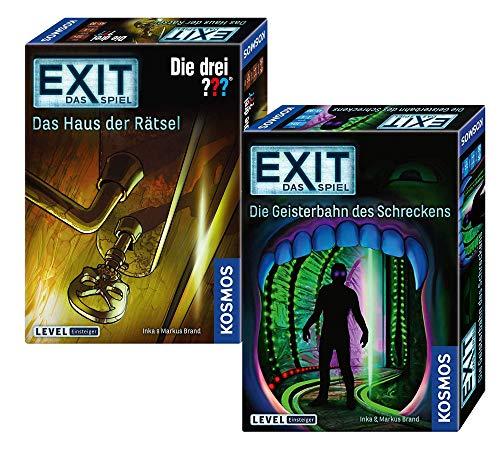 EXIT – Staffel VI: Ghostbahn des Shorror + Kosmos 694043 Juego – La casa de los misterios