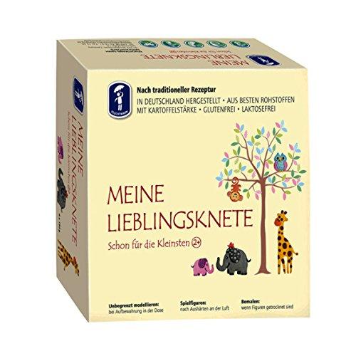 Feuchtmann Spielwaren 6281513 - MEINE LIEBLINGSKNETE aus besten Rohstoffen, 4 Dosen á 150 g -...