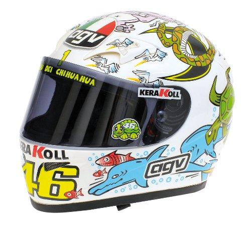 AGV Helmet Valentino Rossi MotoGP Valencia 2005