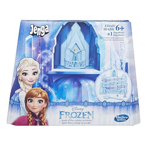 Jogo Gaming Jenga Frozen, Hasbro, Azul/Branco